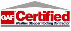 Flying Colors Roofing is Gaf certified