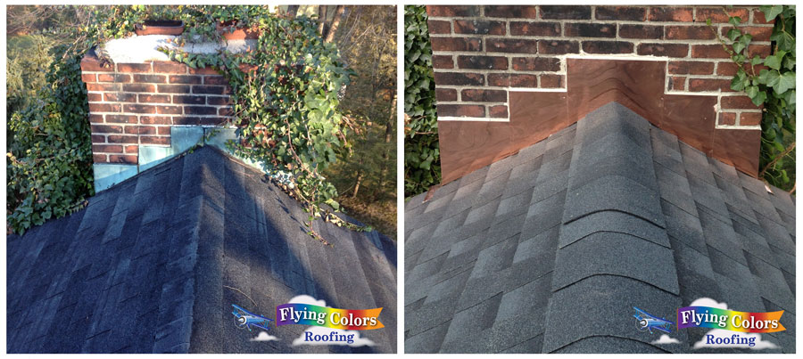 Brookfield CT roofing project by Flying Colors Roofing