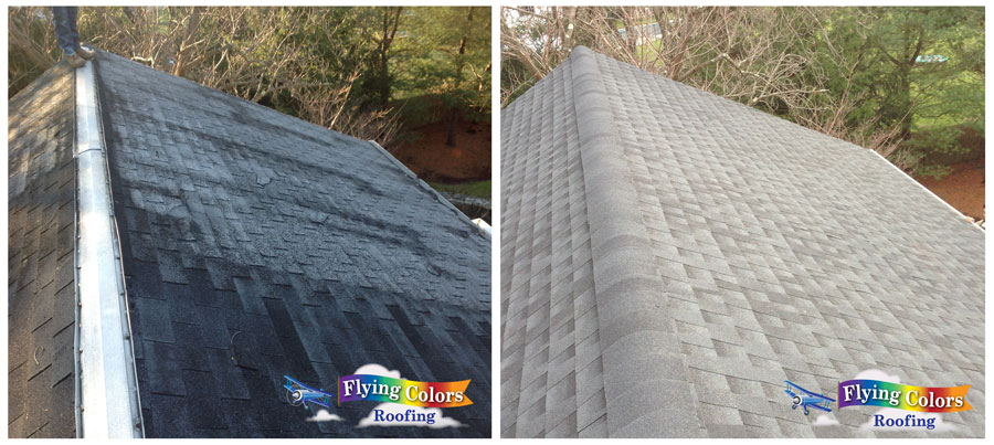 Flying Colors Roofing project completed in Westport CT