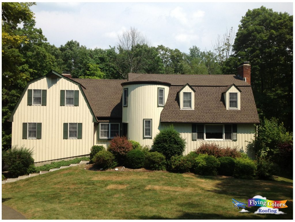 Flying Colors Roofing service project Ridgefield CT