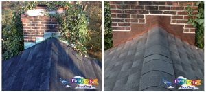 Flying Colors Roofing Connecticut before and after