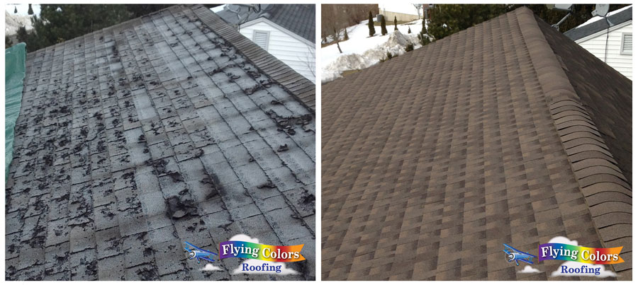 Flying Colors Roofing Westport CT project