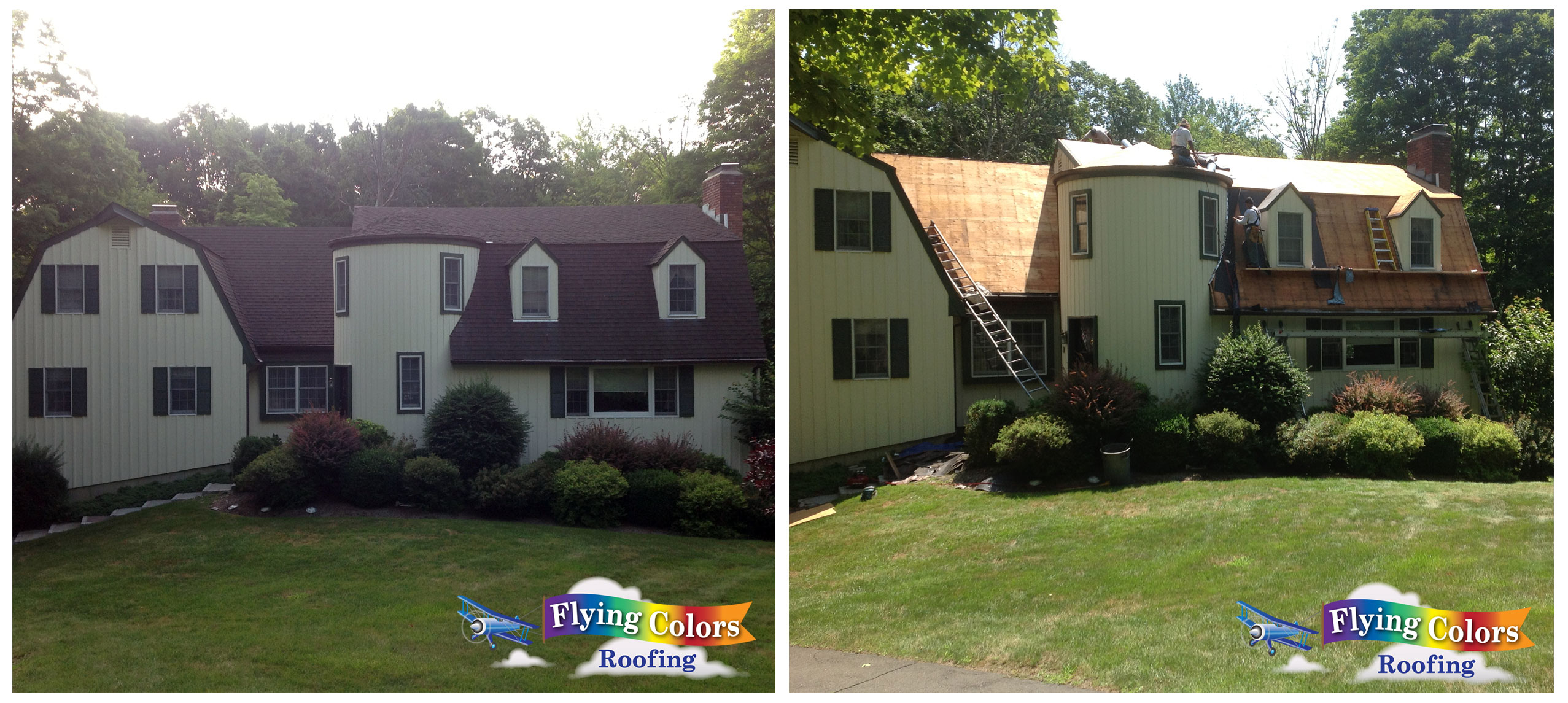 Flying Colors Roofing service Fairfield County CT (203) 918-5156