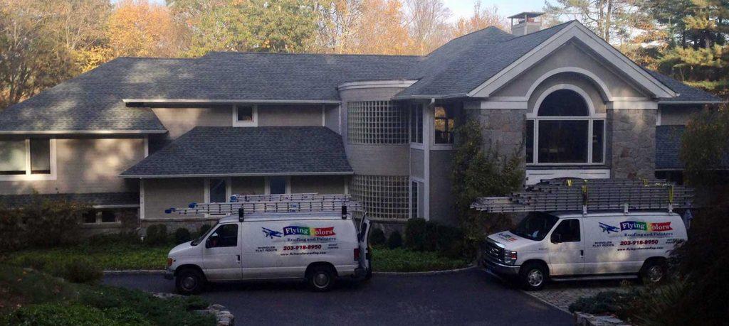 Flying Colors Roofing 203 918 8950 Danbury Ridgefield Fairfield County Ct